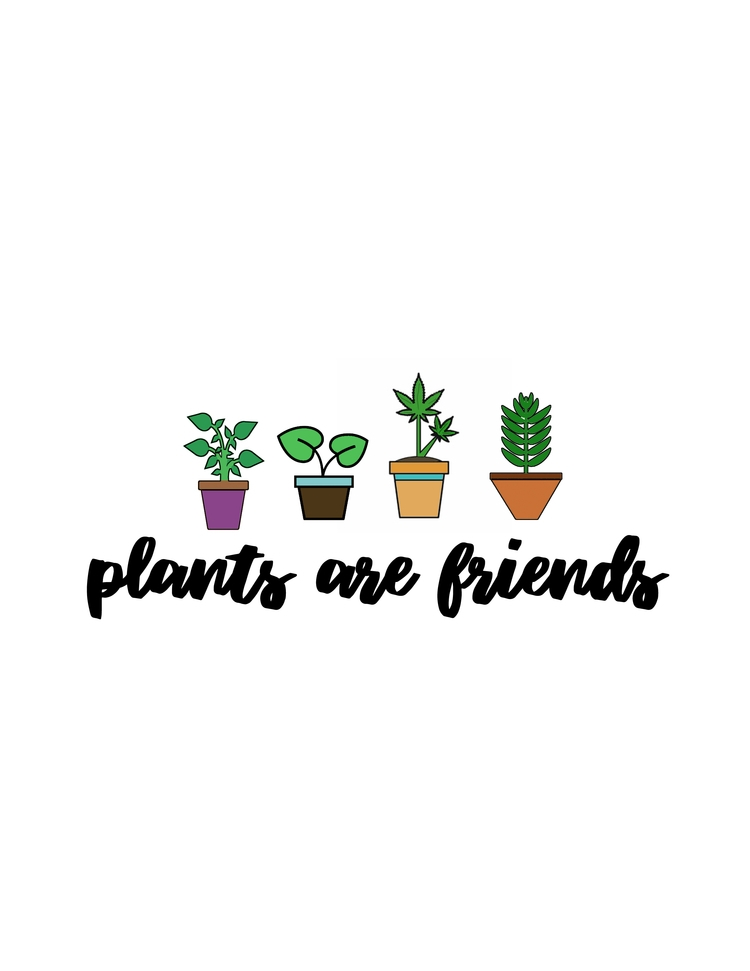 plants friends - moonartist | ello
