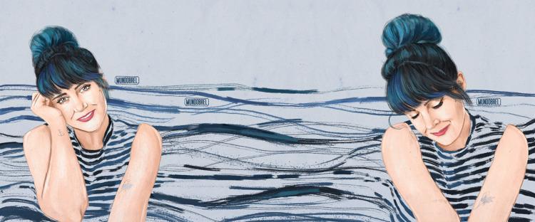 Melina • Mundobrel - illustration - mundobrel   ello
