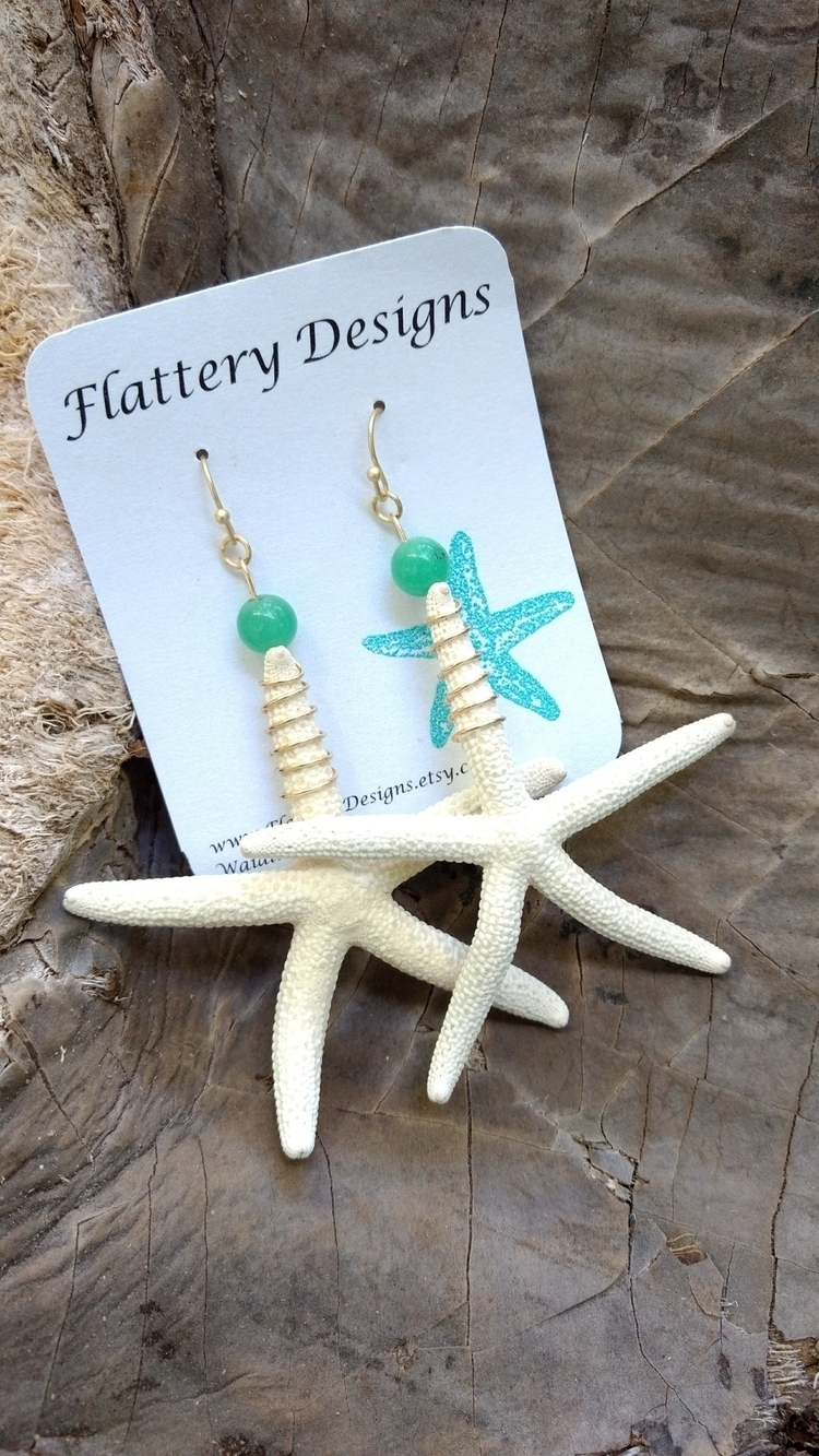 Starfish Earrings restocked sho - flatterydesigns | ello