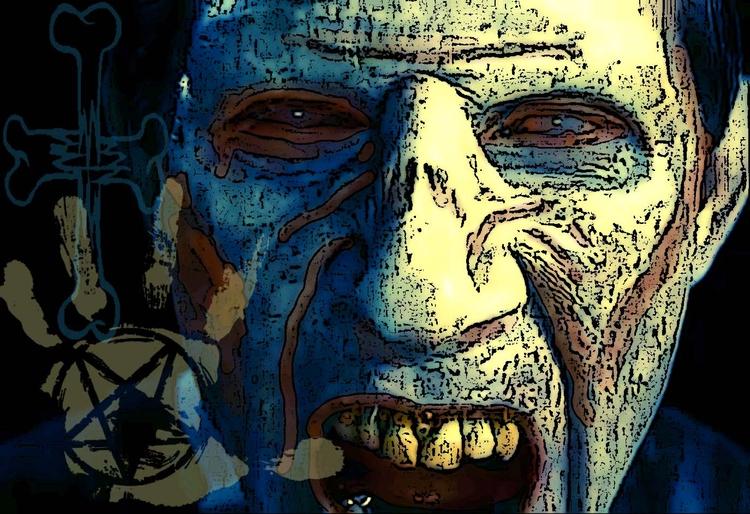 Zombie Man - Digital art piece - incarnations   ello
