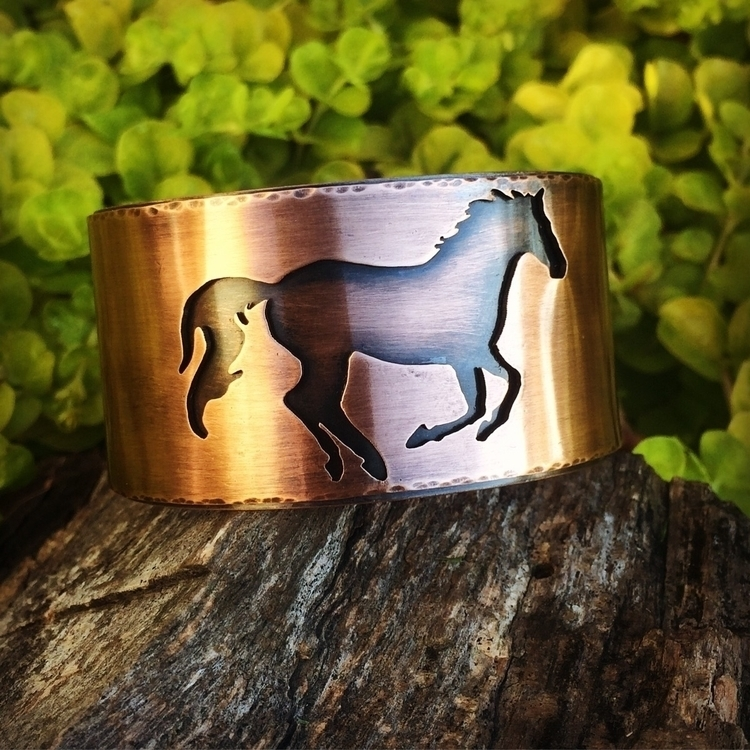 idea horse lovers - metalsmith, riojeweler - copperheaddesigns | ello