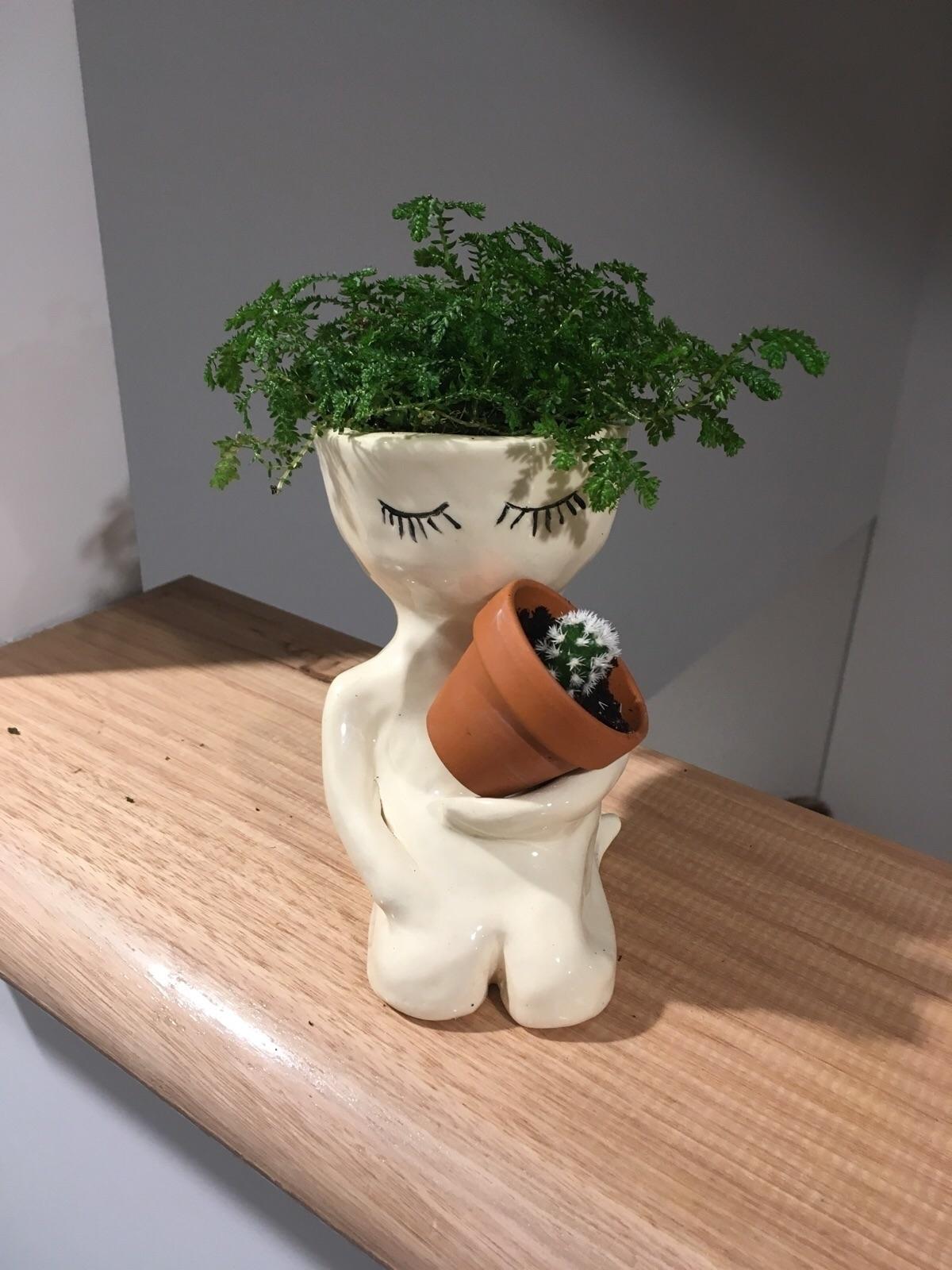 dude pot finished ready home - pot#pottery#ceramics#plants#cactus - livingdecortwins | ello