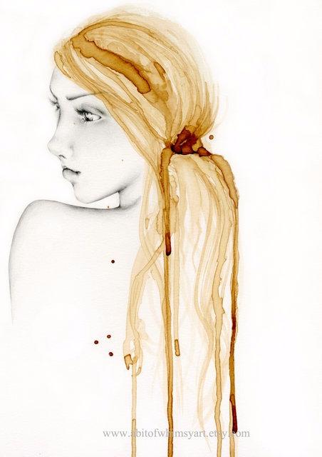 Fine Art Giclee Print original  - abitofwhimsy | ello