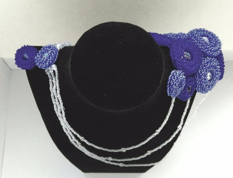 bold shoulder glass beads, cent - haleh_creates | ello