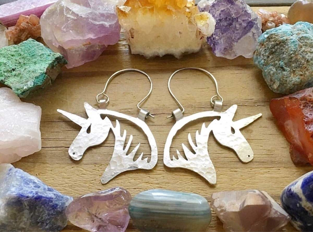 earrings?? horse hoops find fun - asotojewelry | ello