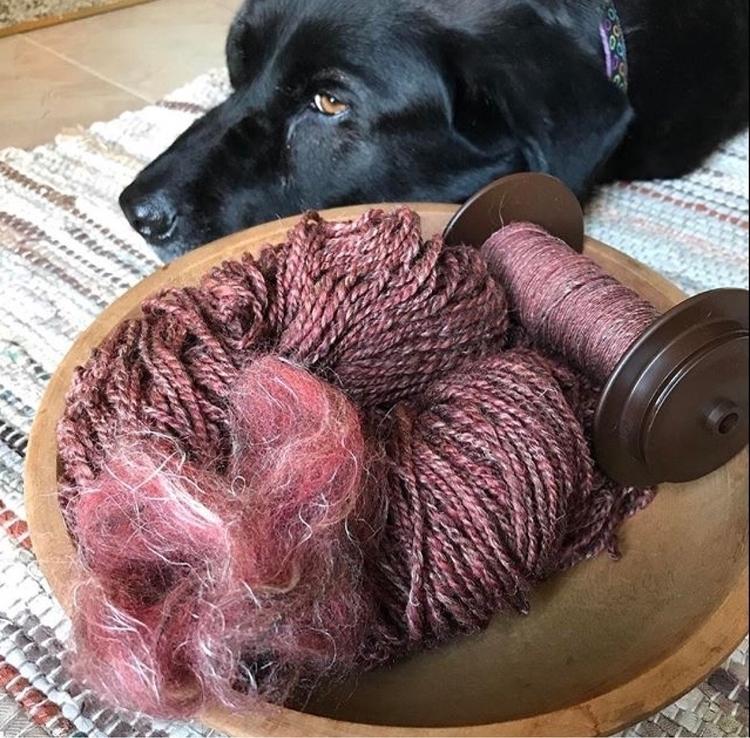 spinnersofello, wool, flax, yarnporn - tinabreit | ello