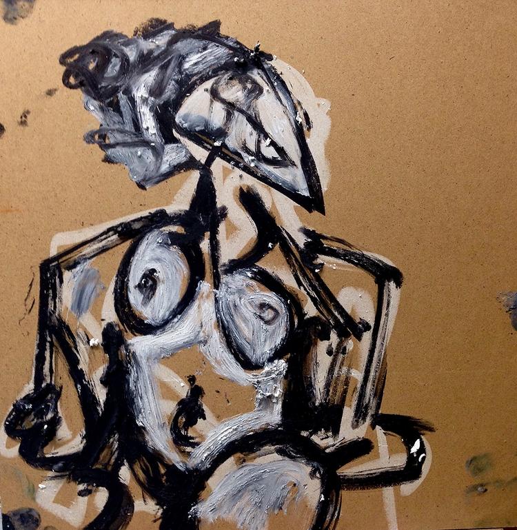 Untitled Nudes (Series - art, nudes - jkalamarz | ello
