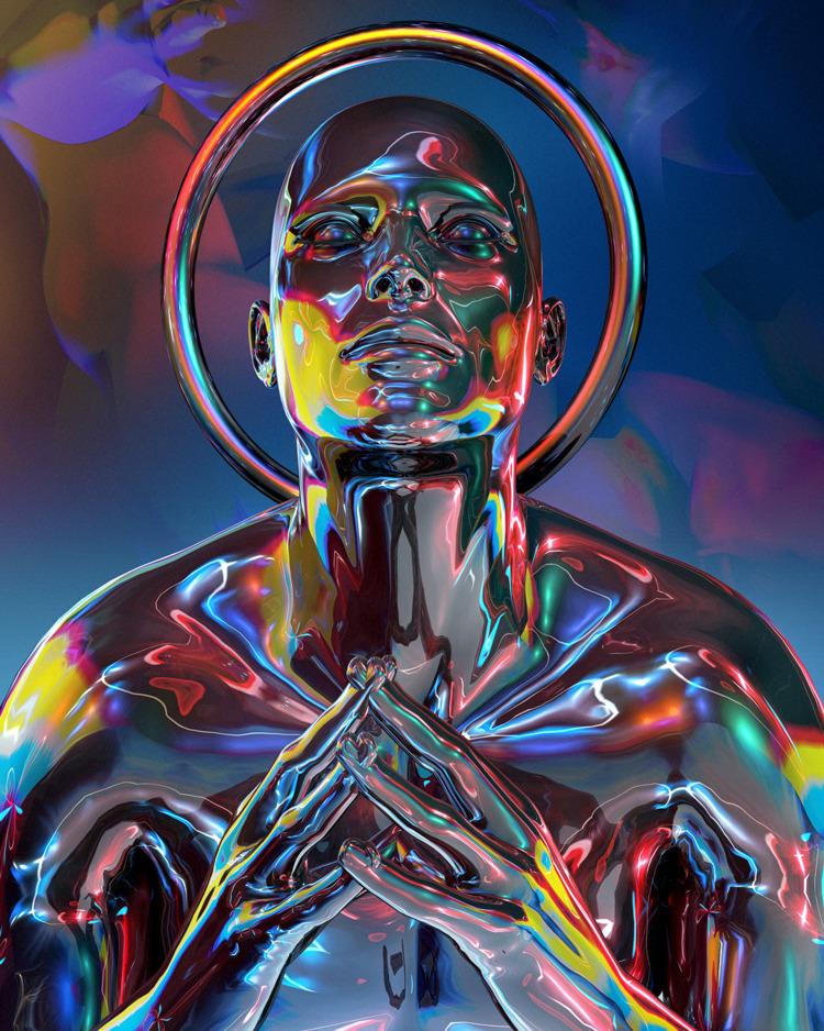 3D, mediation, universe, cosmos - paranoidme | ello