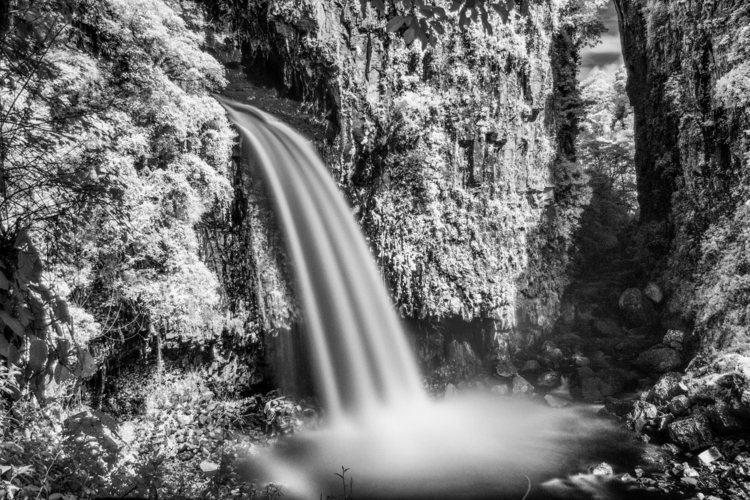 Infrared Long Exposure Photo, X - impermanencia | ello