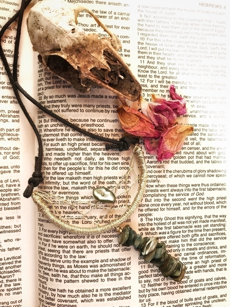 favorite dreamcatcher necklace  - thewoodsywitchh | ello
