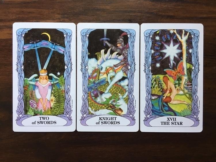 3 Card Tarot Spread Moon Garden - thefaeriegodmother | ello