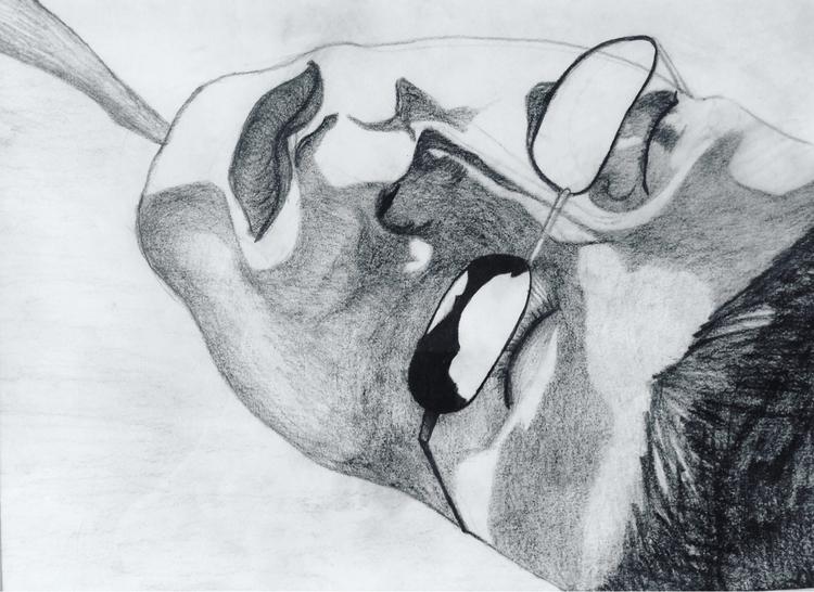 sketch brother sleeping - mavericksalmon | ello
