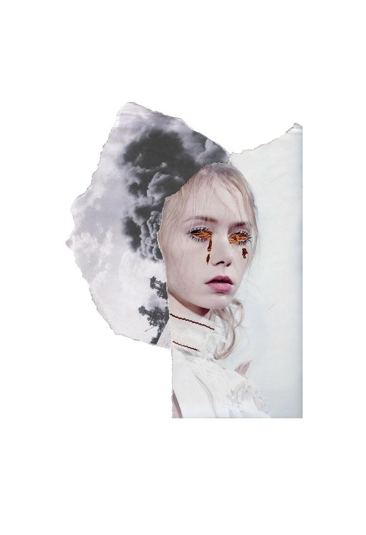Blind II, 8x10 Archival Pigment - glitterandbone | ello