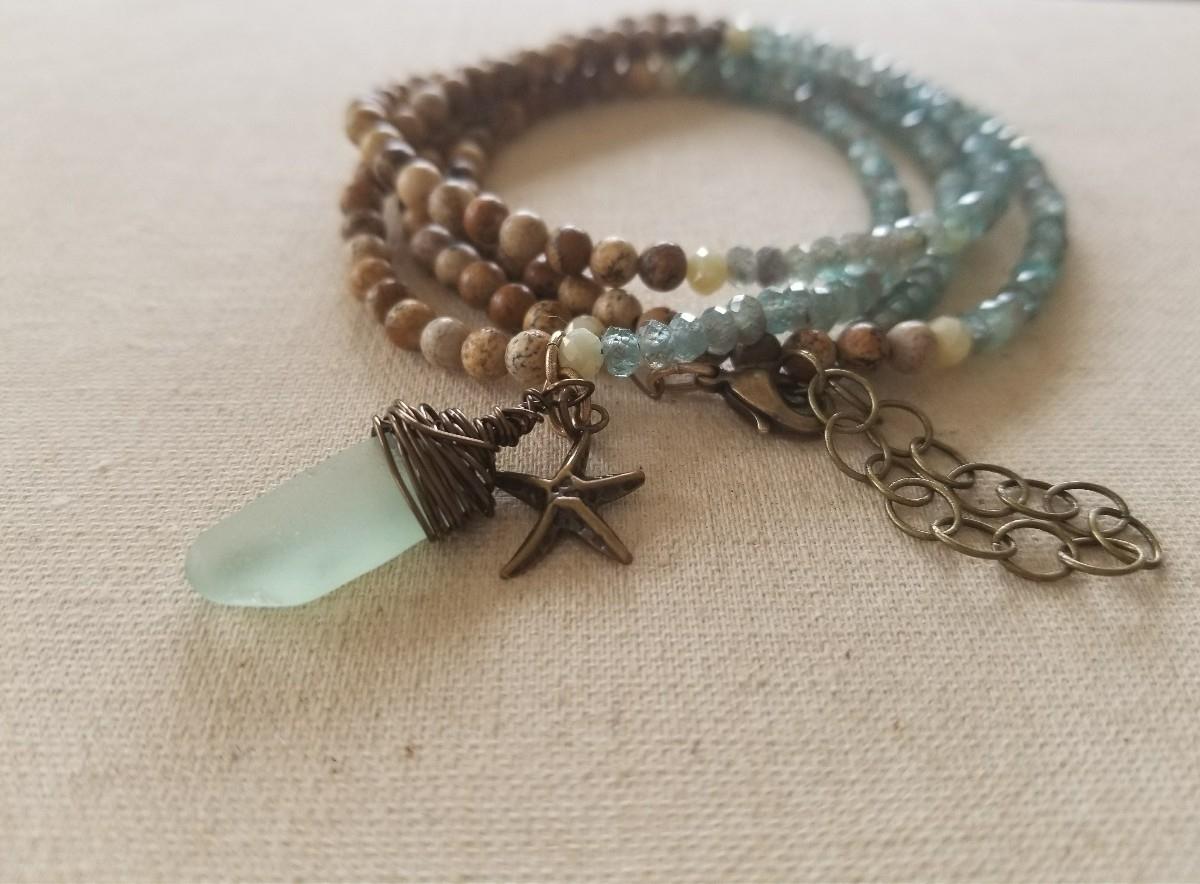 'High Tide' Wrap Bracelet featu - strandedkiwi | ello