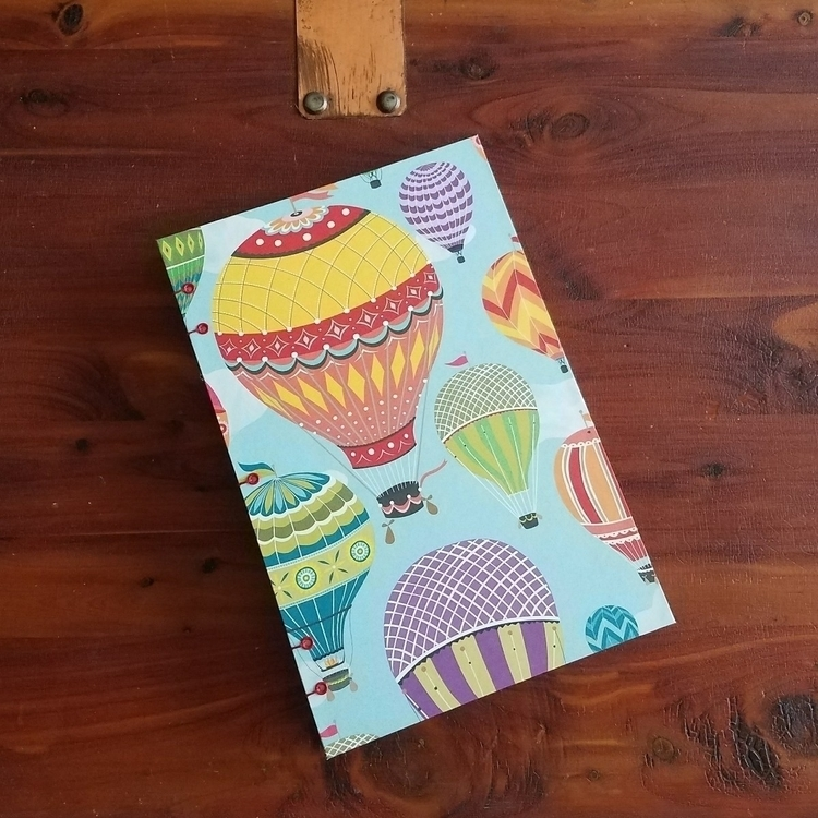 hot air balloon journal custome - colifichets | ello