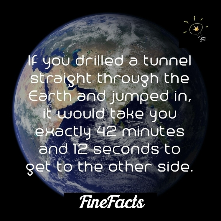 drilled tunnel straight earth j - finefacts | ello