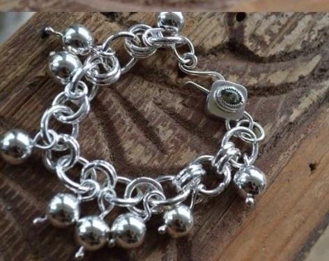 Bangle - sterlingsilver, jewelry - adorned_kellysstudio | ello