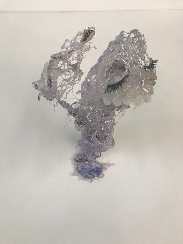 Pretty (2017) Sculpture: glue,  - nichellaverse | ello