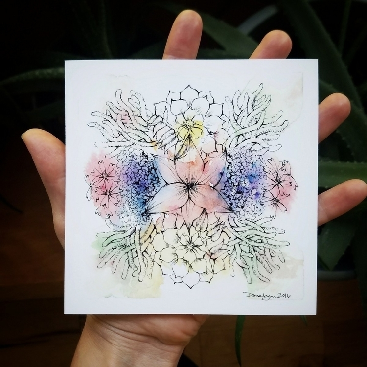 June Nature mandala 1 3 version - starseedsprouting | ello