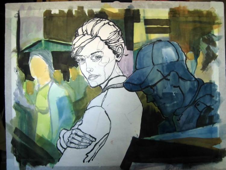 WIP - color ink ... 57x43 cm ma - lcs-illustration | ello