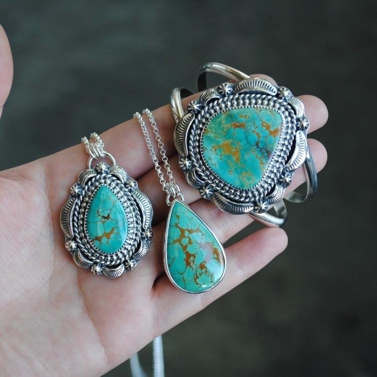 matching Royston turquoise piec - songyeedesigns | ello