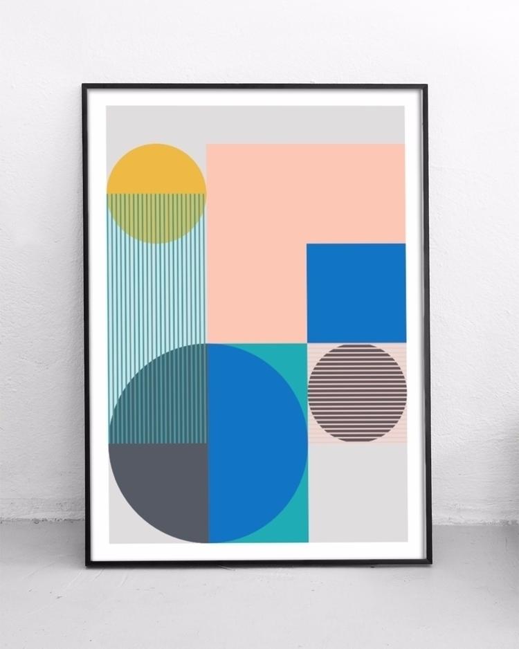 set prints added shop today - geometry - studioonto | ello