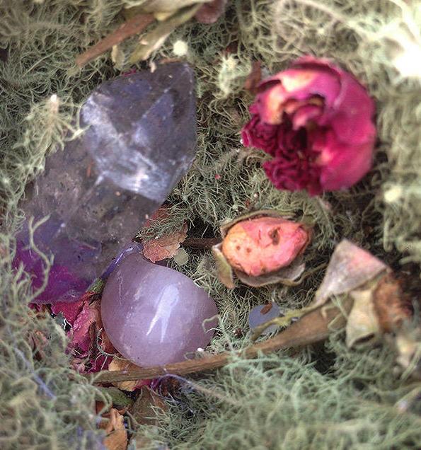 Tibetan Quartz Point, Rose Quar - elishaz | ello