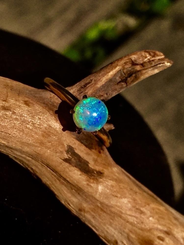 store, Vintage Opal Engagement  - blvkkitsune | ello