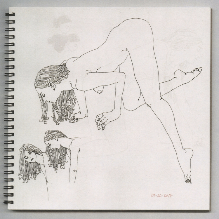 figuredrawing, sketchbook - lucong | ello
