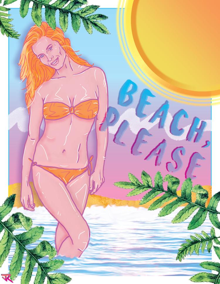 Jeremy Rathjen Beach, Digital 1 - jeremymrathjen | ello