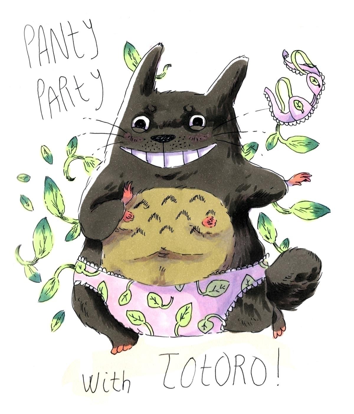 Totoro - ghibli, totoro, anime, manga - skeenep | ello