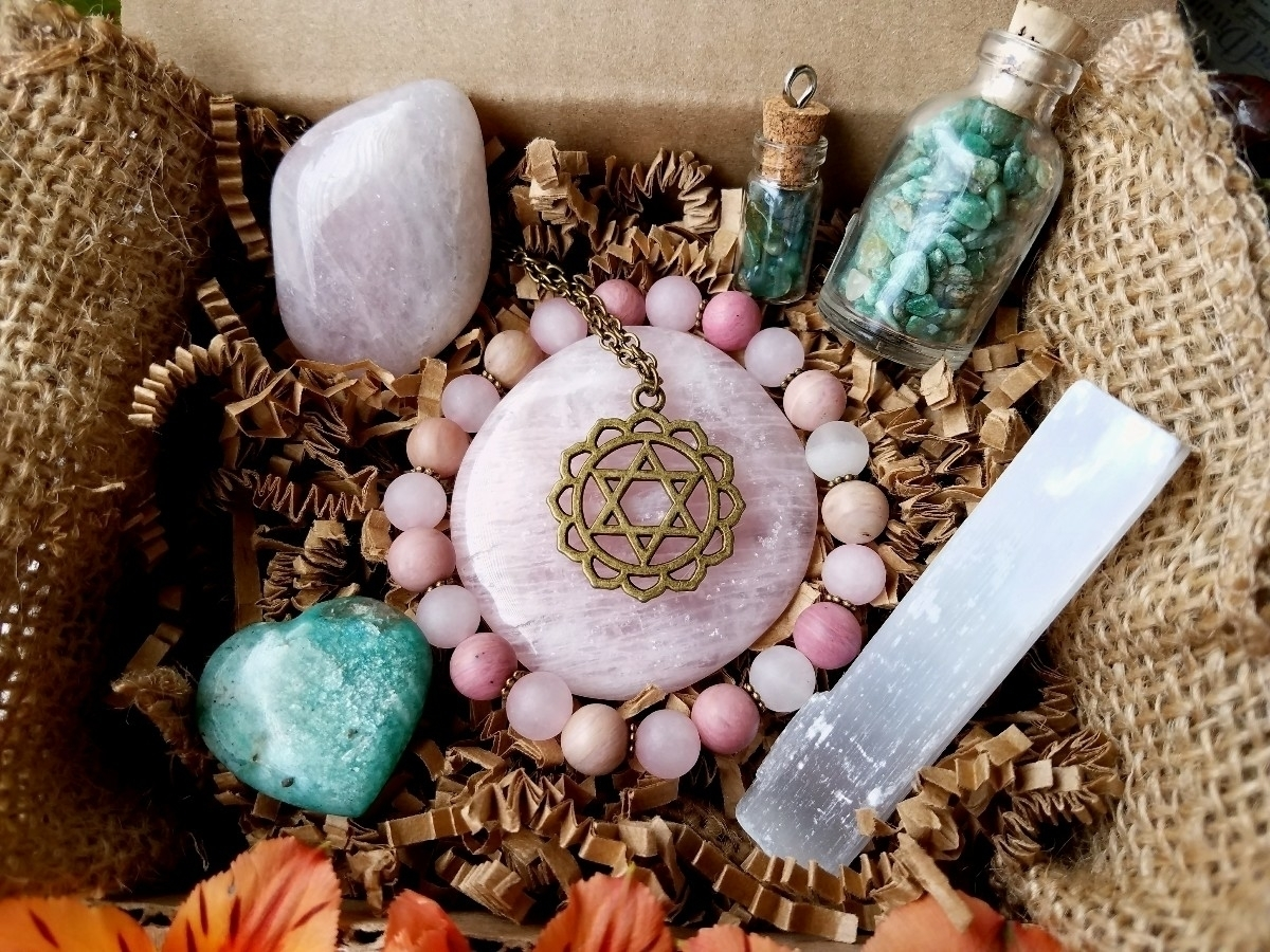 Heart Chakra kit restocked chak - sacreddivination | ello