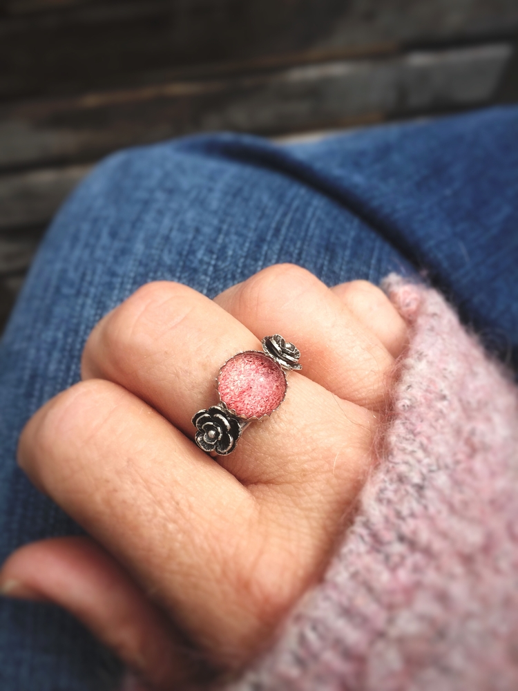 shopsmall, jewelry, ring, pink - bonfiredesign | ello