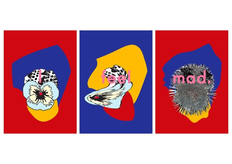 feel mad triptych - michaelaselmani | ello