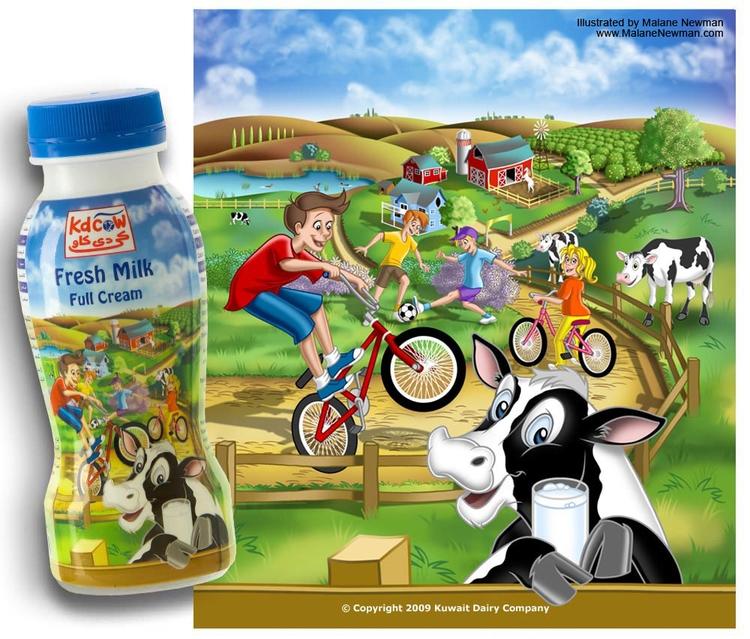 Hired illustration farm wrap mi - malanenewman | ello