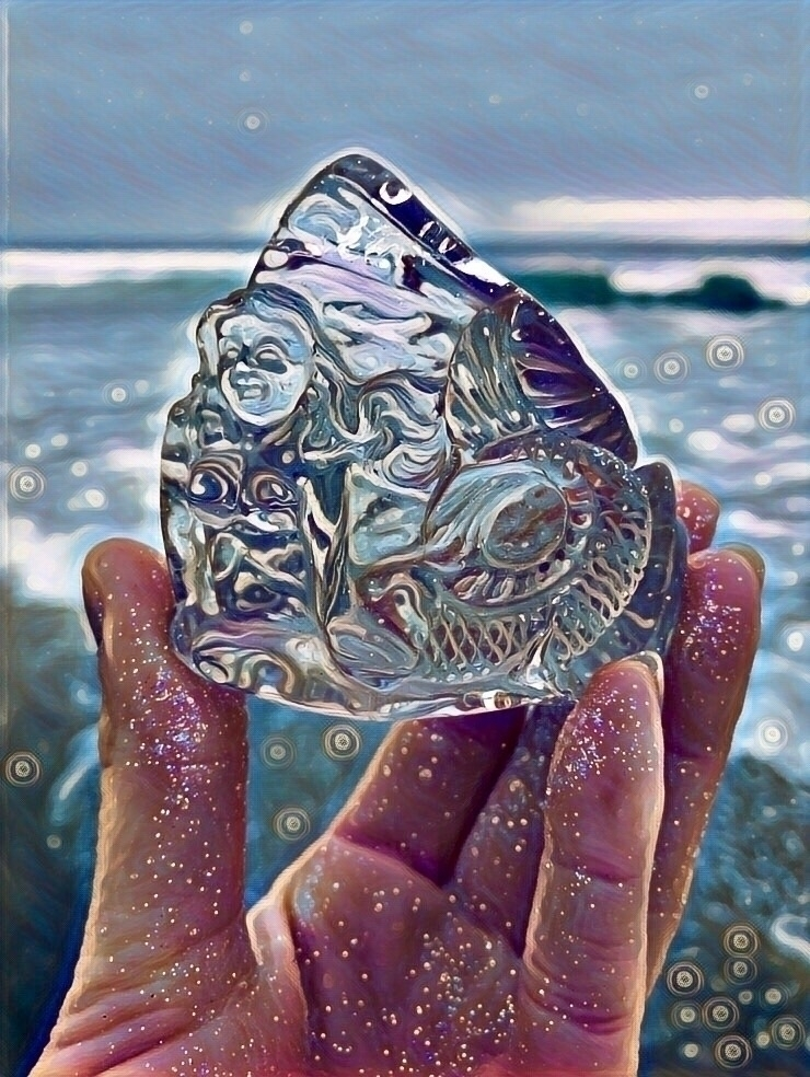 magic:shell::ocean::sparkles - RutilatedQuartz - rocksforthespirit | ello