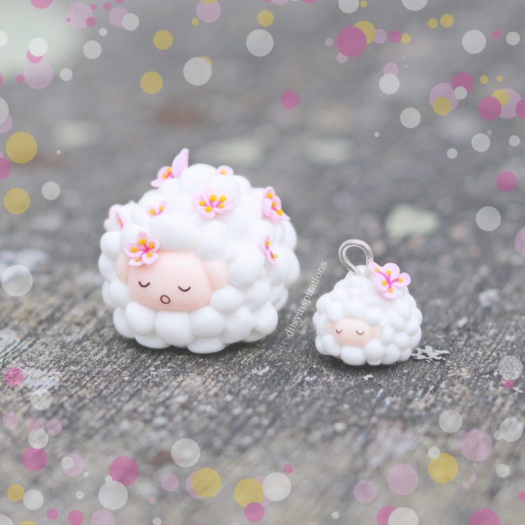 sleeping sakura sheepie teeny,  - jojoanna | ello