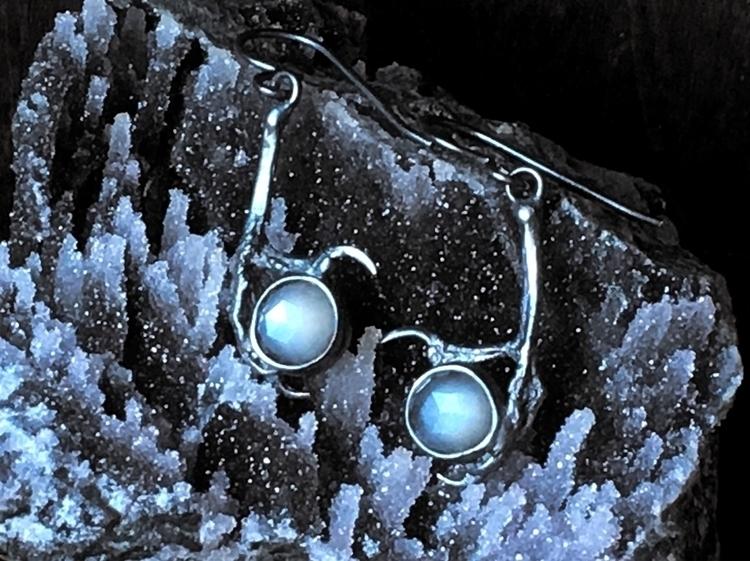 Seer earrings grey moonstone. S - lsdjewellery | ello
