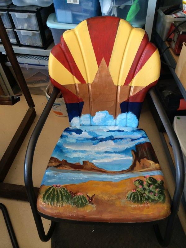 Patio Chair - desertnightsstudio - desertnightsstudio | ello