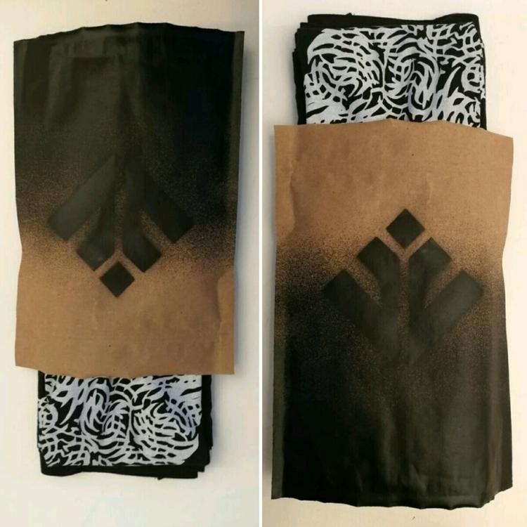 packaging bodhikah - clothing, screenprinting - bevinrichardson   ello