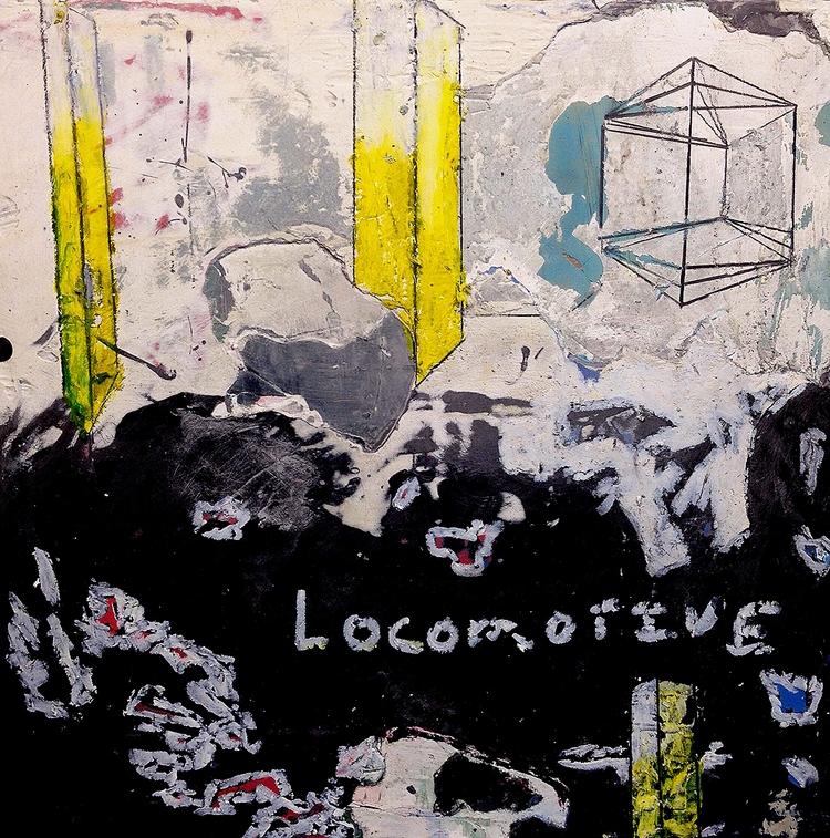 Locomotive - abstract, art, AbstractArt - jkalamarz | ello