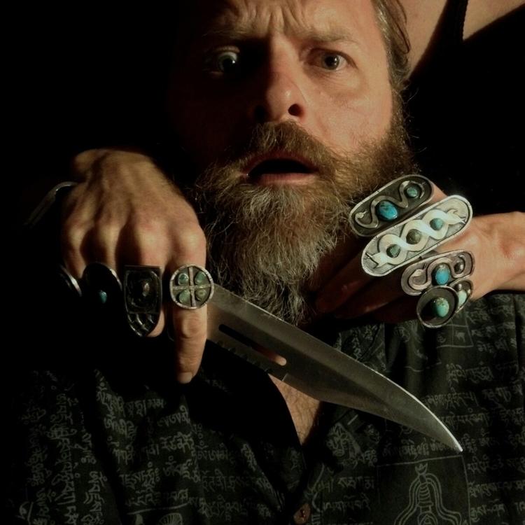 beard violence - nomadjewellery - charleysforestsilver | ello