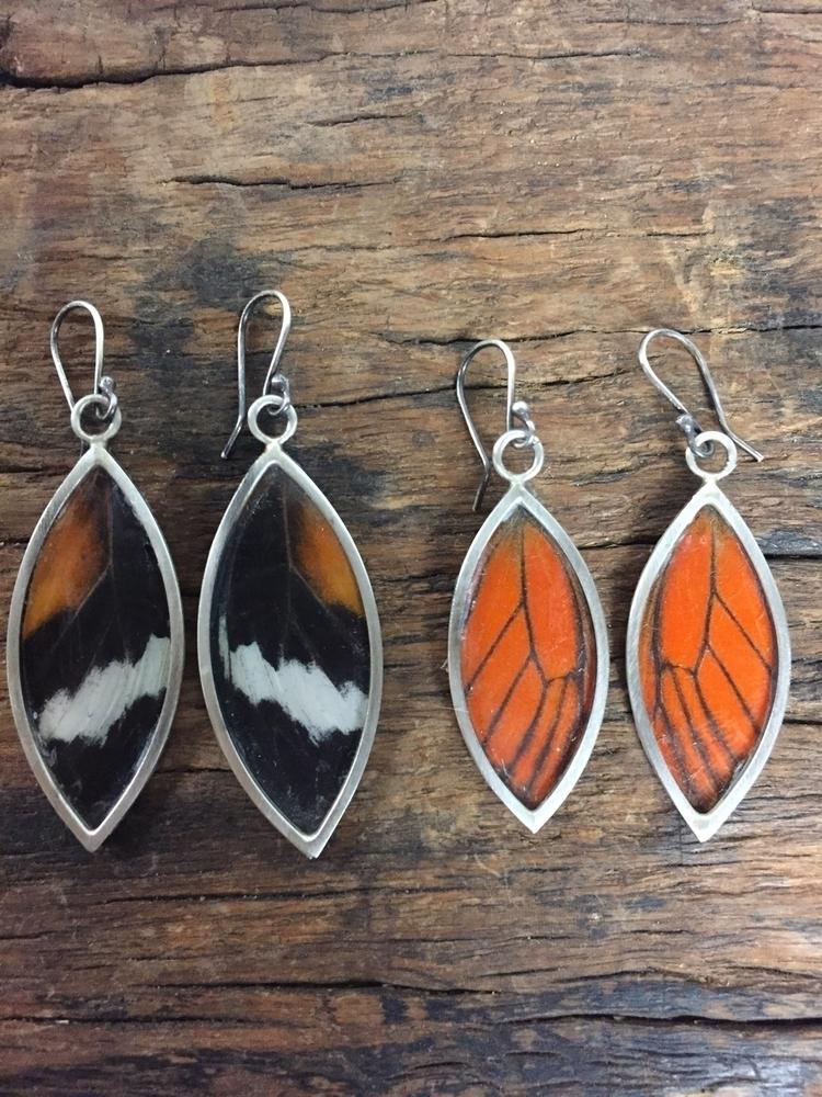 Butterfly earrings listed shop - chrissygemmilljewels | ello
