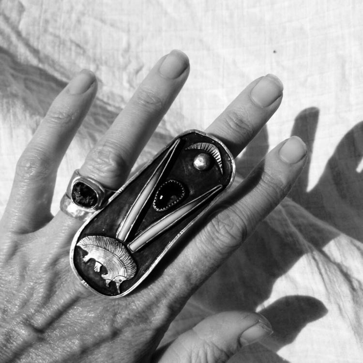 echidna warrior - nomadjewellery - charleysforestsilver | ello