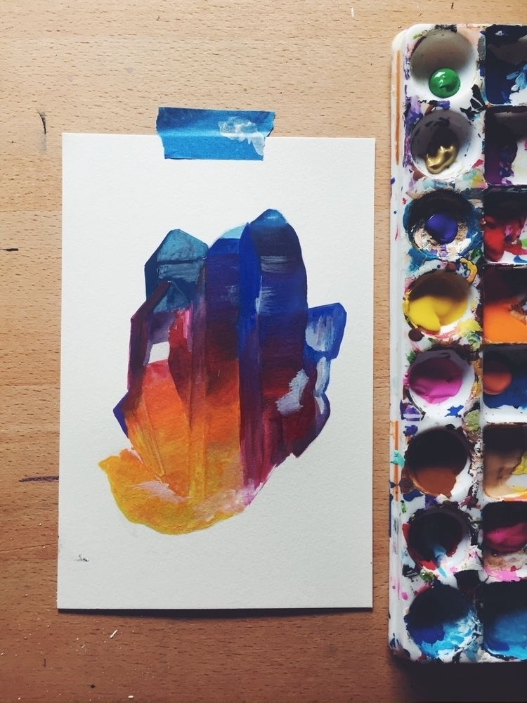 Work process. Beautiful colorfu - valeriaprieto | ello