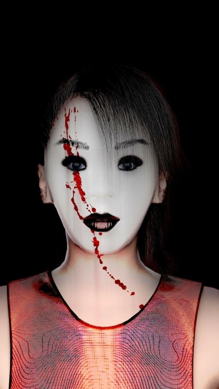 Tegan death mask.. inspired Gir - system73554 | ello