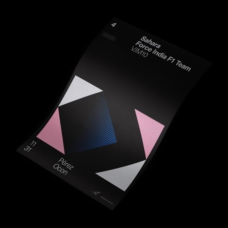 Formula Poster Series 2017 — 4 - duanedalton | ello