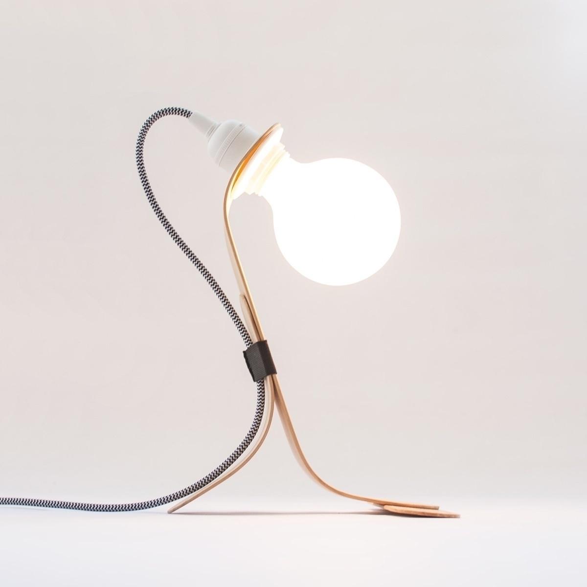 Handmade - modern table lamp st - oitenta | ello