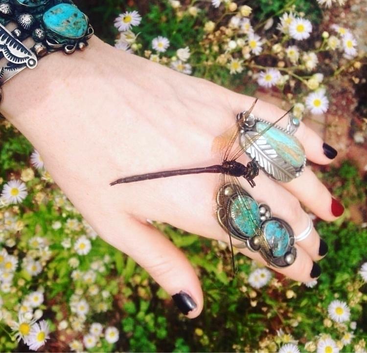 :sparkles:Turquoise Jewels Drag - silverravenstudio | ello