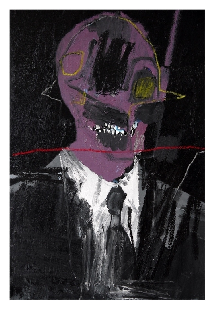 Salesman 2. 60x40cm, 2015 - art - carpmatthew | ello